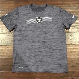 Oakland Raiders Nike Dri Fit T-shirt